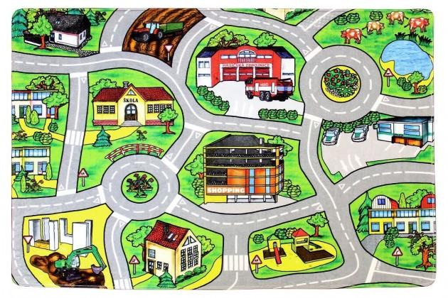 Dětské koberce Kusový koberec Silnice 11 (110x160 cm)