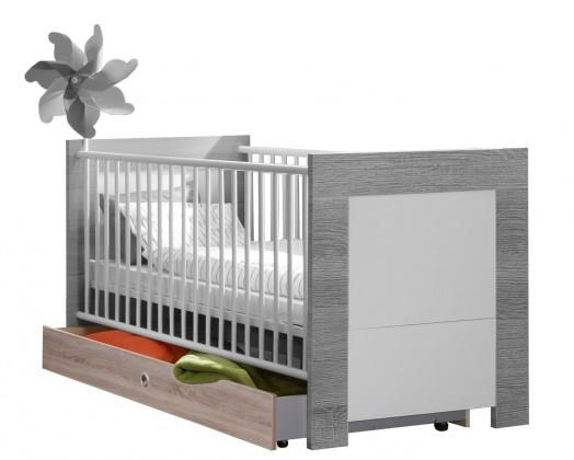 Dětské pokoje ZLEVNĚNO Kira-325227(alpská bílá / dub pílený)