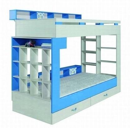 Dětské pokoje ZLEVNĚNO Komi KM 14 (Modrá)