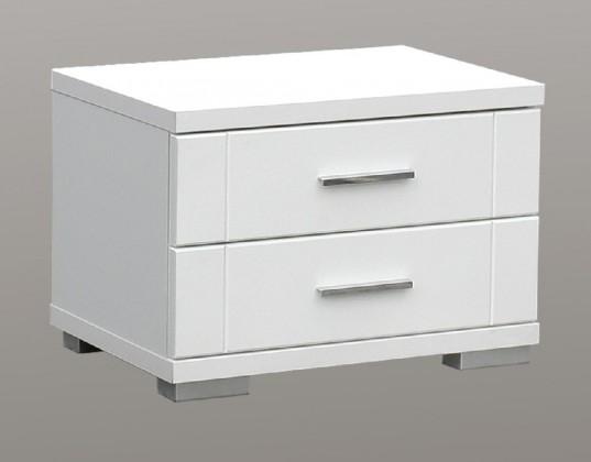 Dětský noční stolek Snow SNWK02 (Bílá C50)