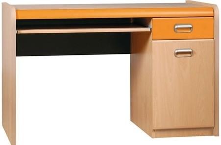 Dětský pracovní stůl APLI APB40 (Pomeranč/javor)