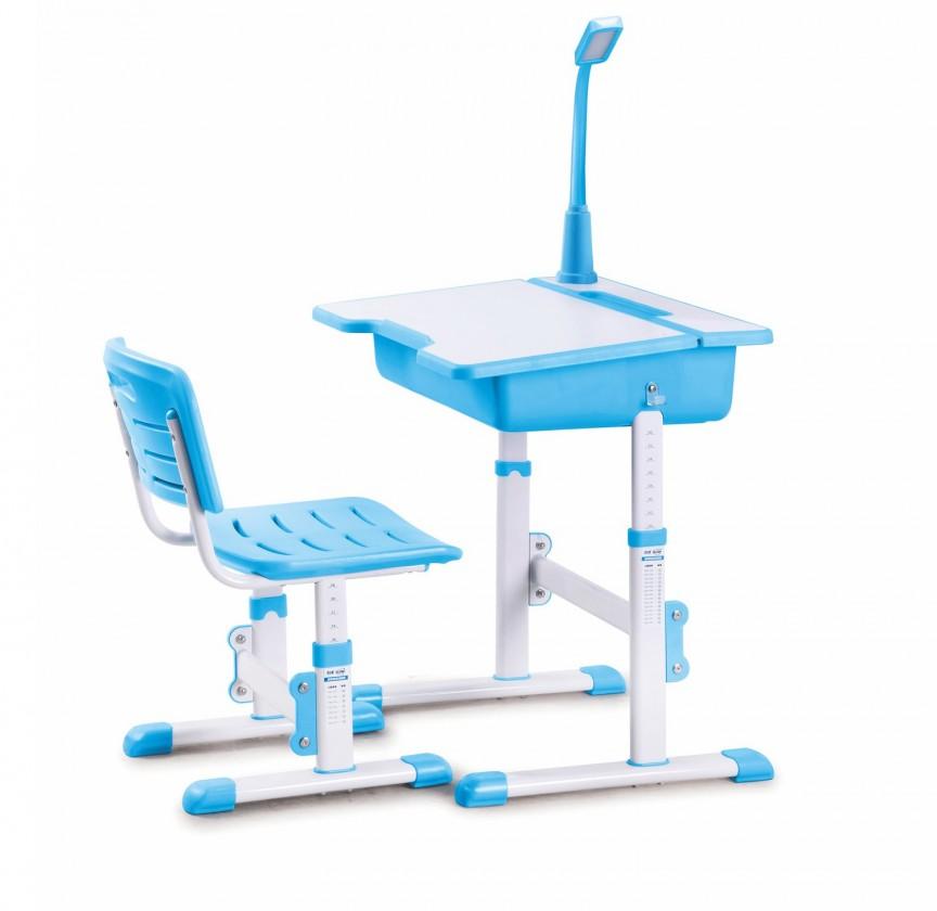Dětský pracovní stůl Astro 3 - Dětský stůl (bílá/modrá)