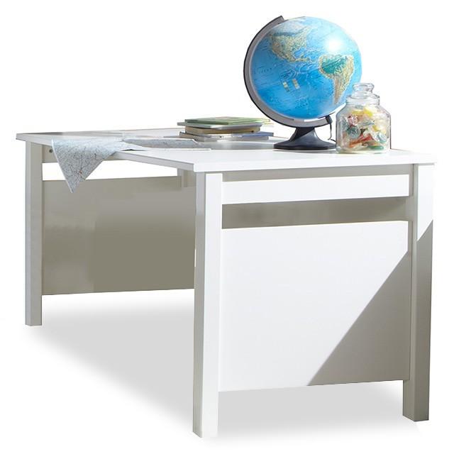 Dětský pracovní stůl Bibi - Pracovní stůl (alpská bílá, modrá)