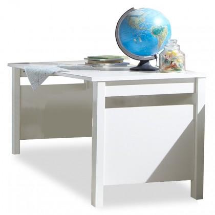 Dětský pracovní stůl Bibi - Pracovní stůl (alpská bílá, zelené jablko)