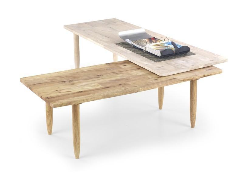 Dětský pracovní stůl Bora-Bora - Dětský stůl, přírodní (bělené dřevo, přírodní)