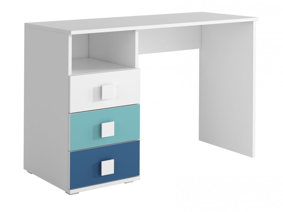 Dětský pracovní stůl FOX 09 - Pracovní stůl (modrá)