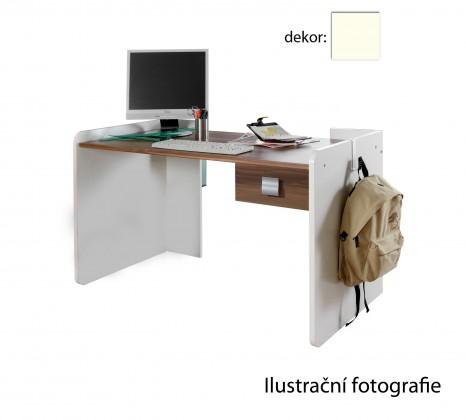Dětský pracovní stůl Jette - 320303 (alpská bílá)