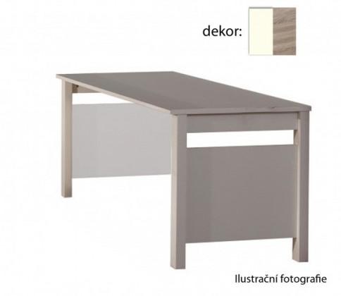 Dětský pracovní stůl Jette - 321416 (alpská bílá / dub řezaný)