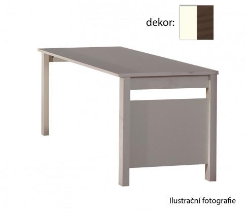 Dětský pracovní stůl Jette - Stůl (bílá, kolumbijský ořech)