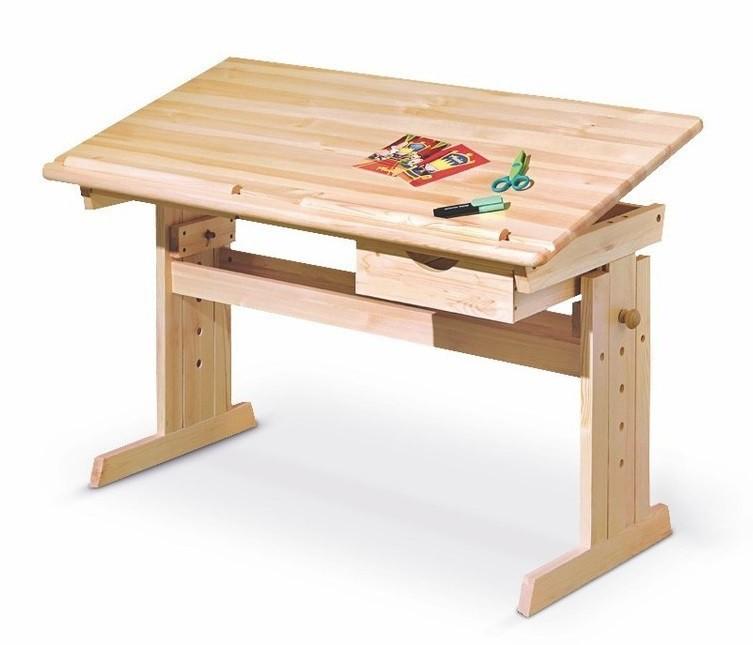Dětský pracovní stůl Julia (borovice)