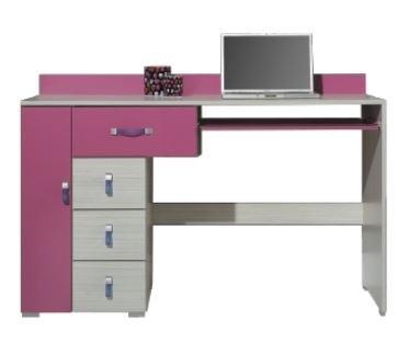 Dětský pracovní stůl Komi KM 13 (Růžová)