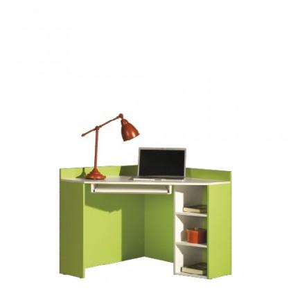 Dětský pracovní stůl LABYRINT LA 17 (krémová/limetka)