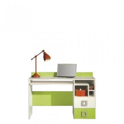 Dětský pracovní stůl LABYRINT LA 18 (krémová/limetka)