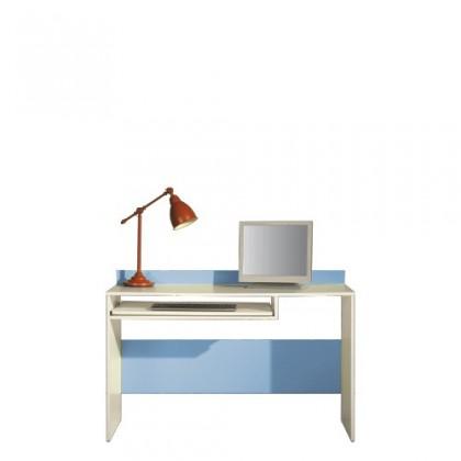 Dětský pracovní stůl LABYRINT LA 19 (krémová/modrá)