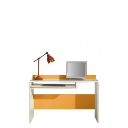 Dětský pracovní stůl LABYRINT LA 19 (krémová/oranžová)