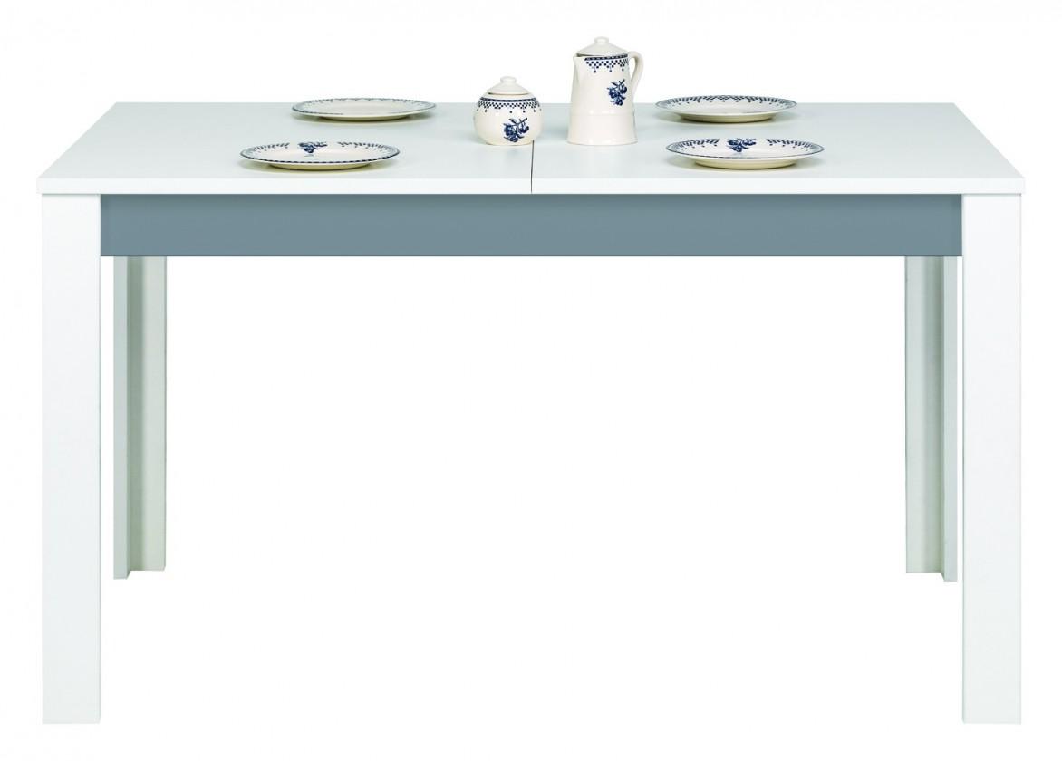 Dětský pracovní stůl Lightning - Stůl, rozkládací (bílá, šedá)