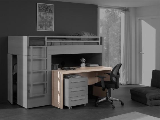 Dětský pracovní stůl Match - psací stůl (borovice carrizo)