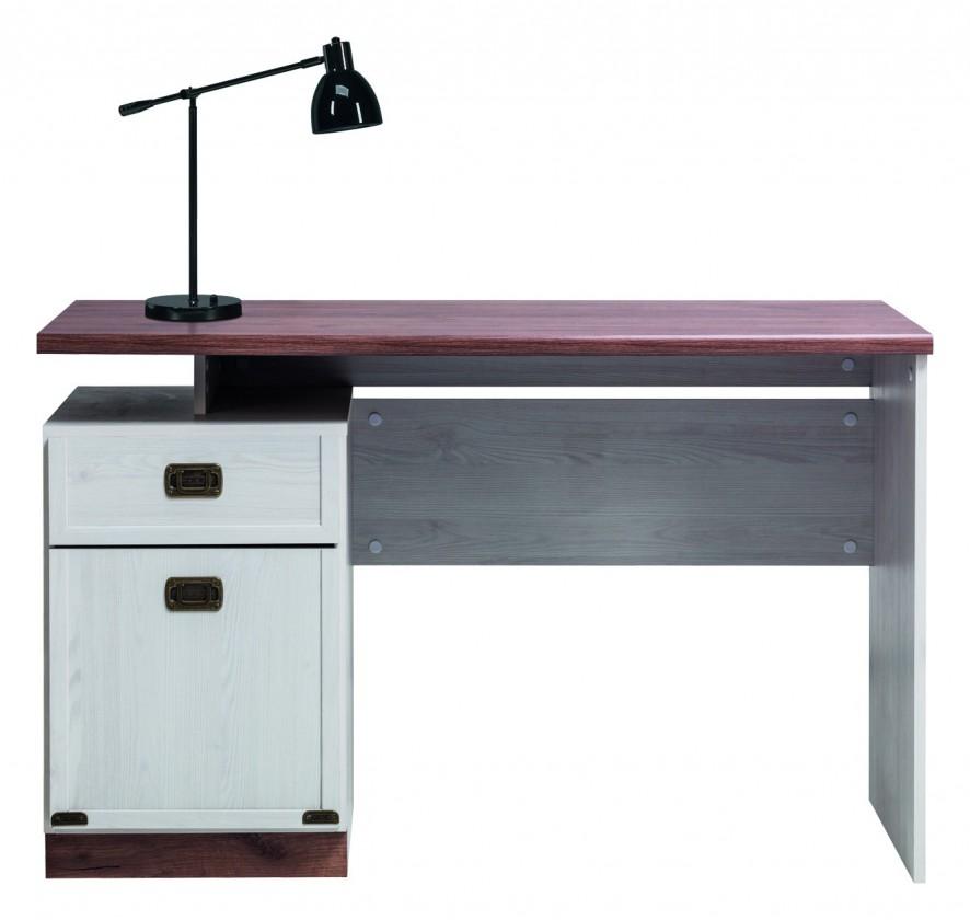 Dětský pracovní stůl Moon - Psací stůl (modřín sibiřský, dub)