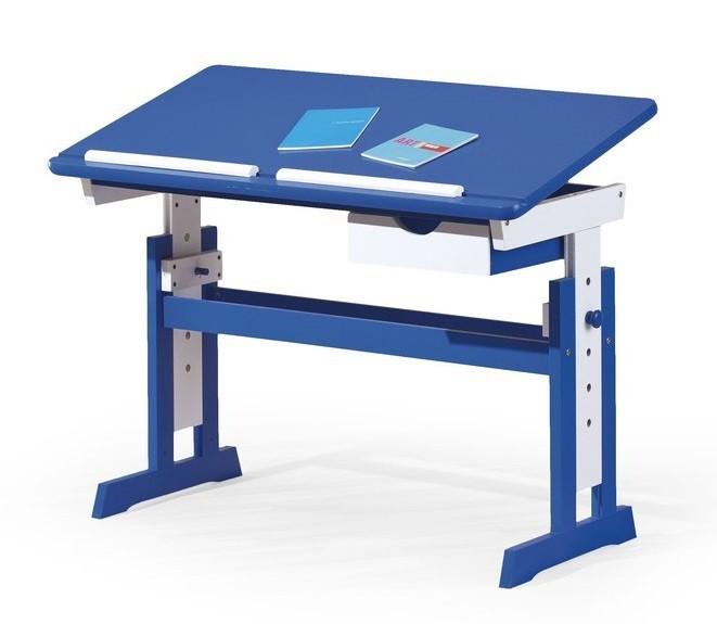 Dětský pracovní stůl Paco (modrá/bílá)