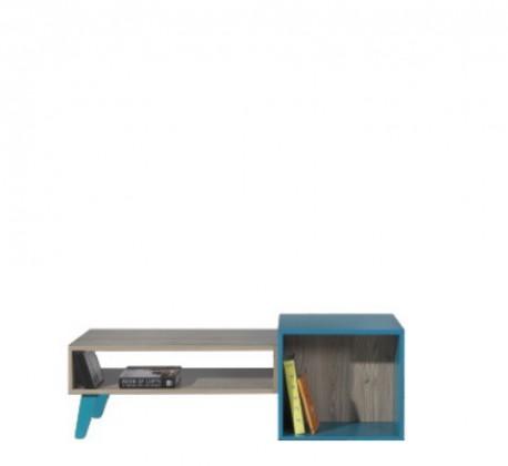 Dětský pracovní stůl SAJMON SJ 18 L/P (modřín/tyrkysová)