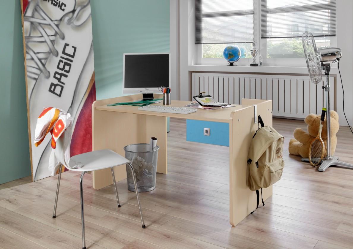 Dětský pracovní stůl Sunny - Pracovní stůl, dětský (námořní modř)
