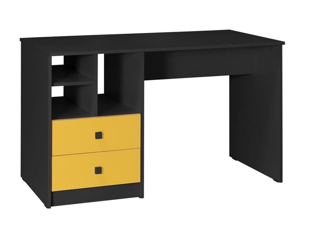 Dětský pracovní stůl Tommy 18 (šedá/žlutá)