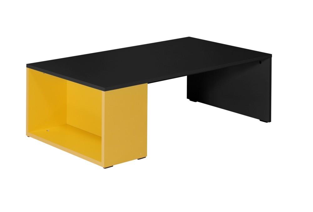 Dětský pracovní stůl Tommy 22 (šedá/žlutá)