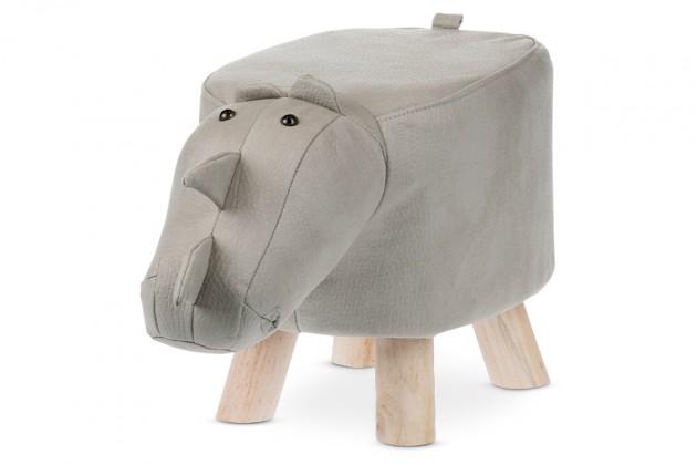 Dětský taburet Dětský taburet Nosorožec šedá