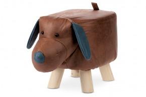 Dětský taburet Pes hnědá