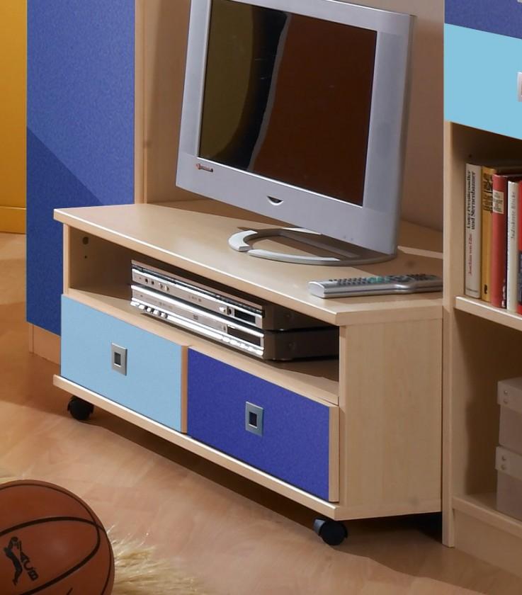 Dětský TV stolek Sunny - TV stolek (námořní modř)