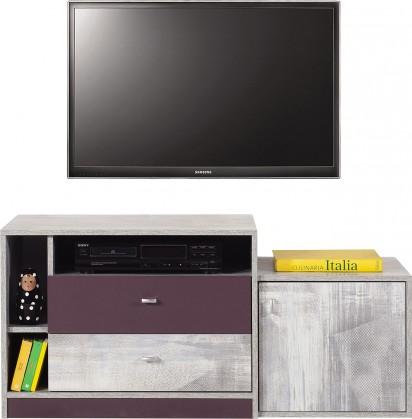 Dětský TV stolek Zoom - TV stolek ZM8 (antic, fialová)