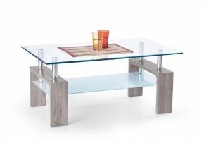 Diana Intro - Konferenční stolek (tmavý dub sonoma)