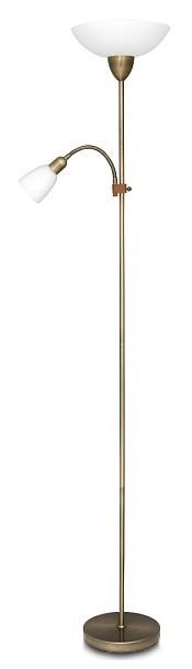Diana - Lampa, E27 (bronzová/bílá)