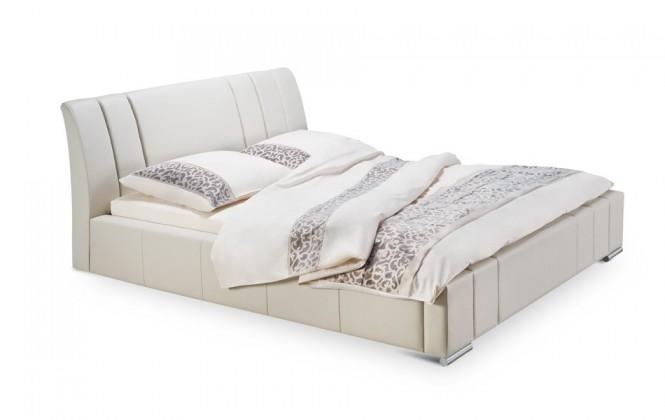Diano - rám postele, rošt, 2x matrace, úložný prostor (200x200)