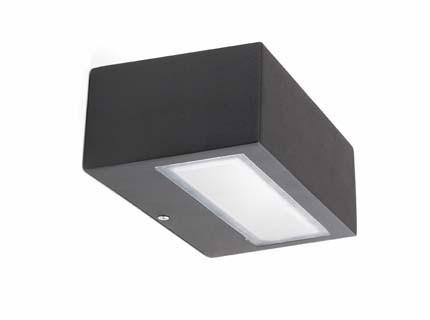 Didot - Nástěnné svítidlo (černá)