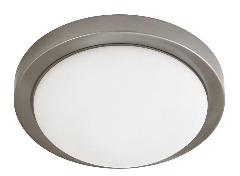Disky - Nástěnná svítidla, E27 (saténový chrom/bílá)