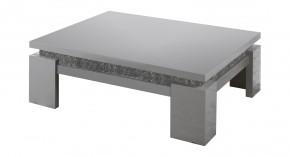 Diva - Konferenční stolek, 4x nožičky (bílá/diamant)