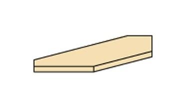 Doplněk Cassanova - rampa rohová (pro skříň R 1 DV)