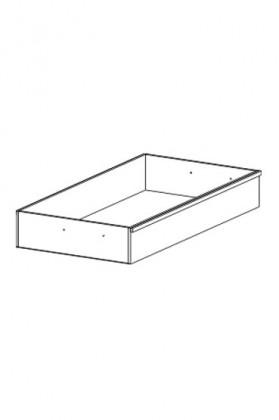 Doplněk Cassanova - Úložný prostor 90, 2ks (dub bardolino)