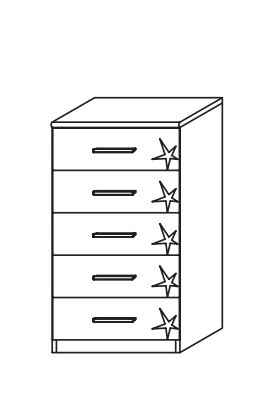 Doplněk Celle A9N26.67B4 (alpská bílá/lesk šedá lávová)