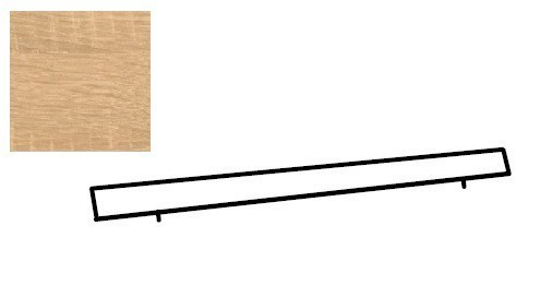 Doplněk Match Up - Horní lišta (dub zdrsněný)