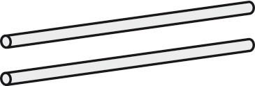 Doplněk Match Up - Vnitřní osvětlení skříně (zářivka 62 cm, pár)