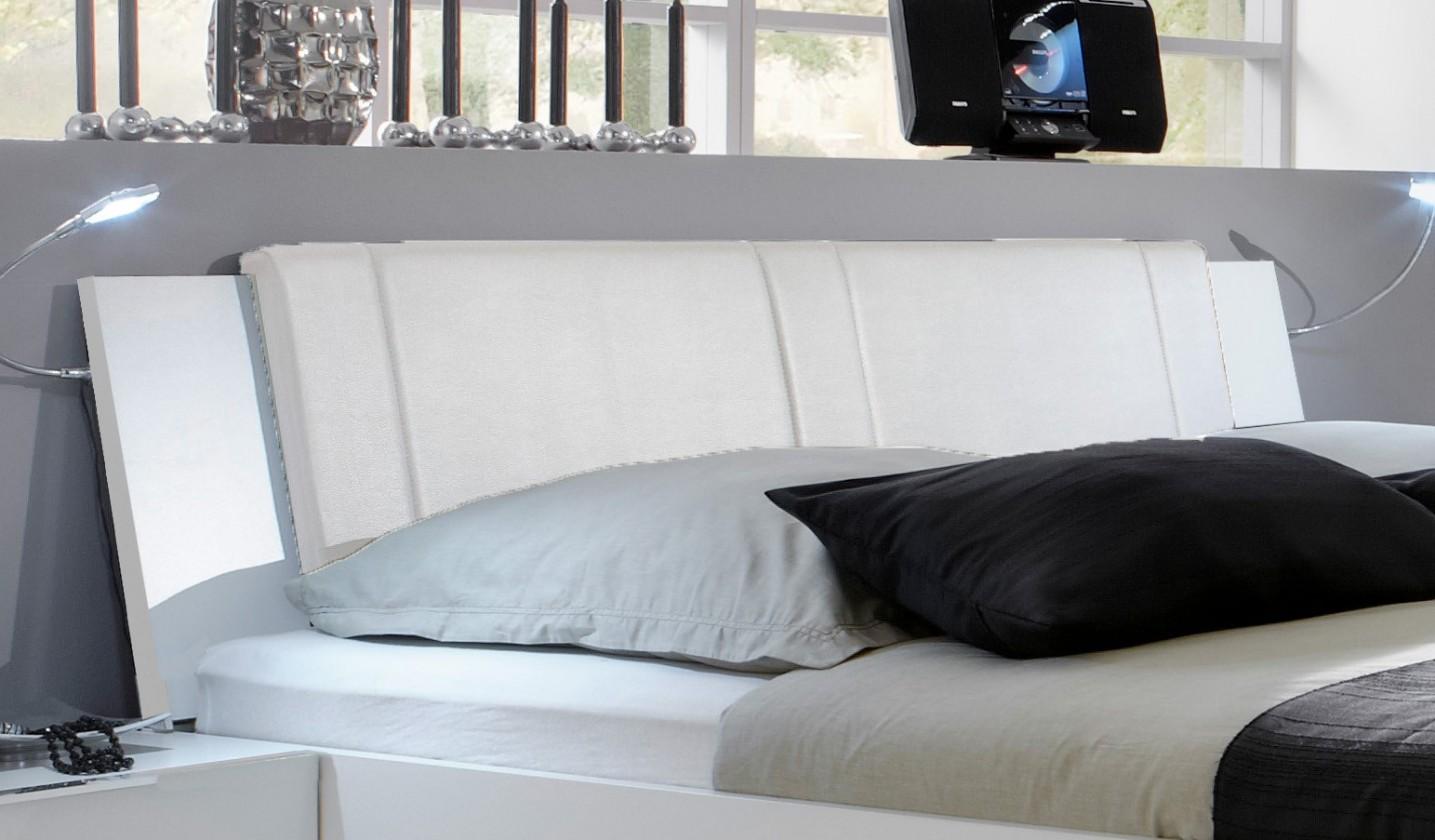 Doplněk Medina - Polstrované čelo na postel 160 cm (alpská bílá)