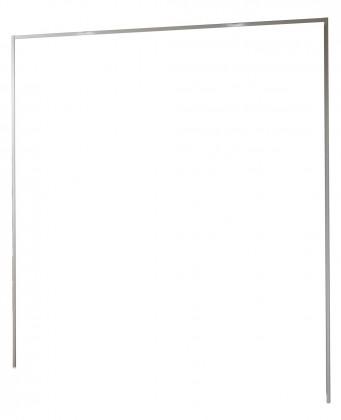 Doplněk Medina - Římsa na šatní skříň 200 cm (alpská bílá)