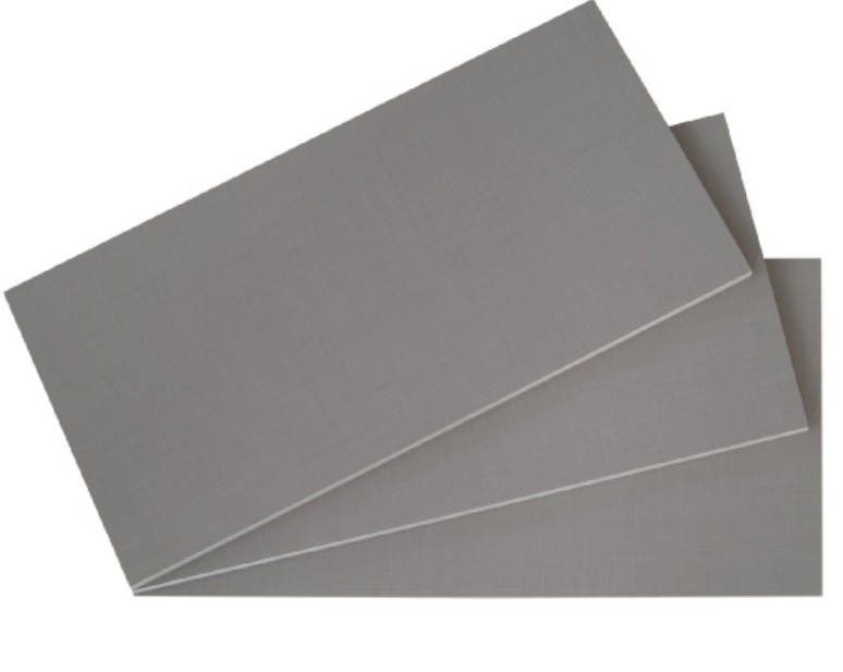 Doplněk Set polic, 3 ks, 87x50 cm (síťovaná šedá)