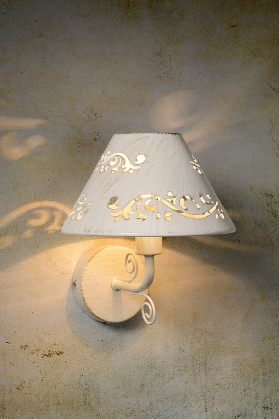 Dorint - nástěnné osvětlení, 40W, E14 (bílá)