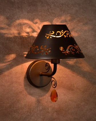 Dorint - nástěnné osvětlení, 40W, E14 (bronzová)