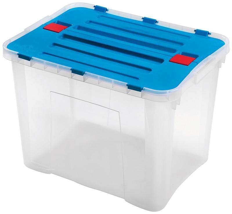 Dragon - Box 42 l (transparentní, modrá)