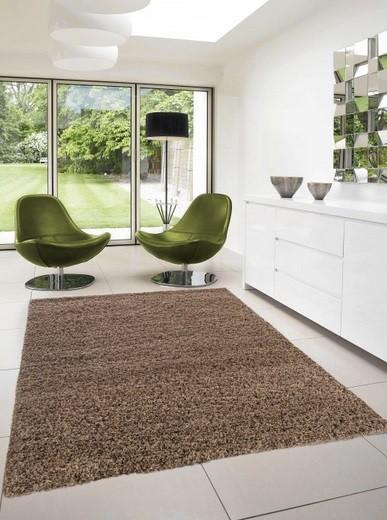Dream Shaggy - koberec, 110x60cm (100%PP shaggy, světle hnědá)