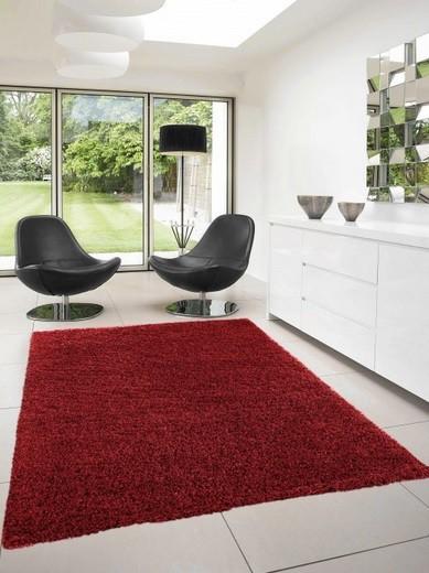 Dream Shaggy - koberec, 230x160cm (100%PP shaggy, červená)
